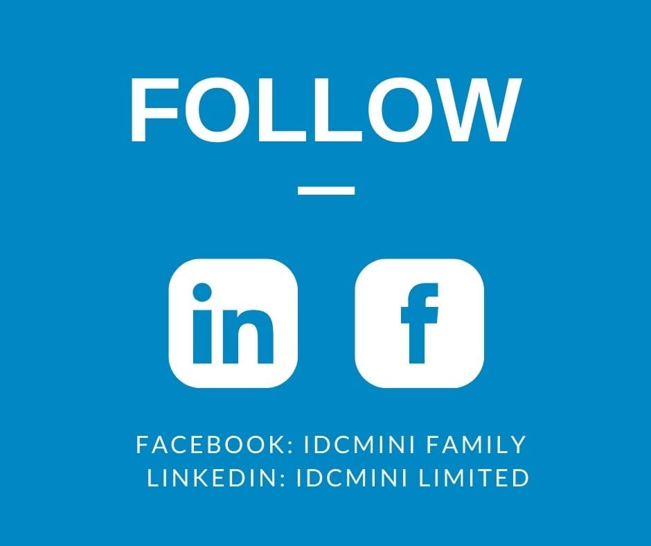 DCL, iDCmini social media accounts